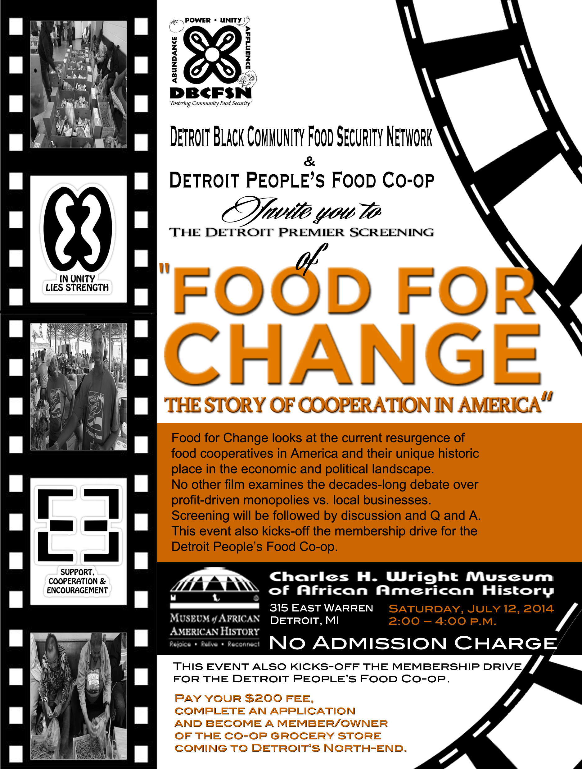 Detroit Black Food Security Network Screening at the Charles H